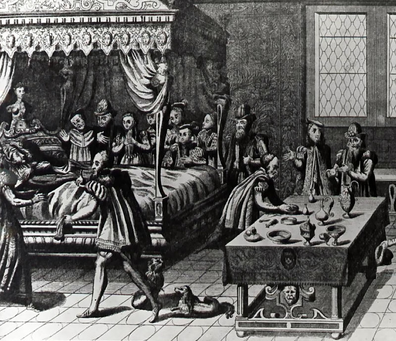 Henri II mort