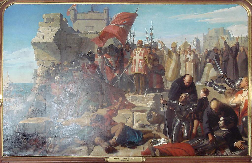 Levee_Siege_Malte_Charles_Philippe_Lariviere