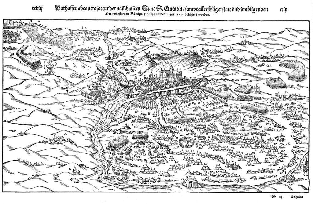 saint quentin 1557 Munste